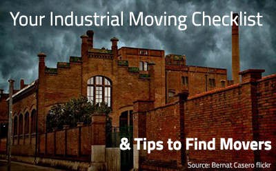 Moving Checklist For Industrials - Moving Company and moving service in los angeles