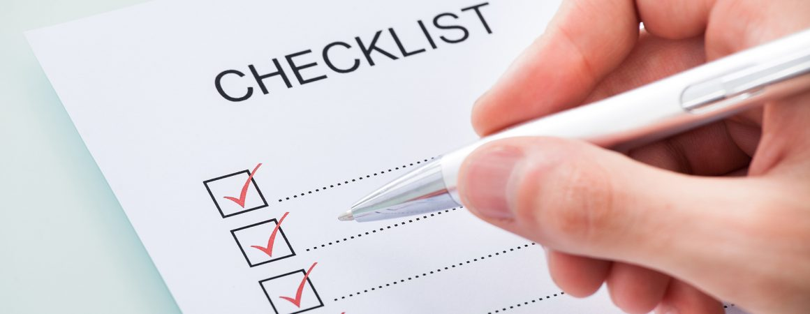 moving checklist